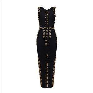"TDR fashions ""Balmain Bandage"" Dress in Black"